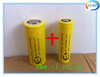 Free shipping 1pc NCA18650-E28 2800mah 35amp 18650 battery and 1pc NCA26650-F42 4200mah 42amp 26650 battery