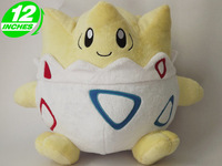 Japanese animation pokemon Togepi plush toys cosplay dolls for boys & girls kids 30cm 12 inches