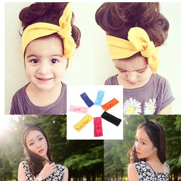 VEEVAN Women Headscarf Stretch Twist Headband knit Turban Sport Yoga Head Wrap Bandana Headwear Hair Decoration For Kid(China (Mainland))