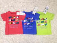 Freeshipping  2015 NEW fashion  100% cotton babies t-shirt  boy's t-shirt  fashion kid's short t-sirt for 6-36M