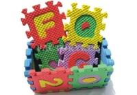 Free Shipping 36pcs/Set Split Joint Puzzle Educational Kids Child Toy Alphabet Number Foam Mat Blocks