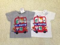 Freeshipping  2015 NEW fashion  100% cotton babies t-shirt  boy's t-shirt  fashion kid's short t-sirt for 6-36M A0578