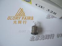 GE328 6V 0.2A 1.2W miniature lamp,328 6V0.2A bulb,Nikon microscope MXA20748,tomometer collimator ophthalmic lights