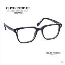 2015 Oliver peoples NDG-1-P Vintage myopia glasses frame Men/women Square frame Retro plate eyeglasses Fashion eye glasses