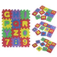 36PCS/Set Split Joint Number Alphabet EVA Foam Puzzles Mat Baby Child Educational Toy Best Gifts