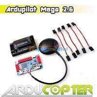 APM 2.6 ArduPilot Mega 2.6 Flight Controller Board APM2.6 w/Compass+Ublox NEO 6M/6H/M8N GPS w/Compass for Multicopter UAV