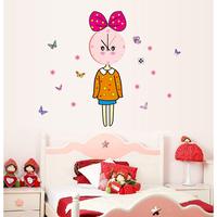 Derlook beijingqiang decoration sticker eco-friendly wall stickers wall clock girl wall clock 3d marouflage clock