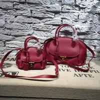 Top Quality! Saddle bag genuine leather bag women bag shoulder bag handbag bags