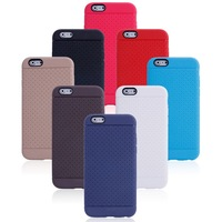 Wholesale 200pcs Slim and anti-skid function Striae TPU phone Shell for iphone 6 4.7/5.5 inch, free shipping