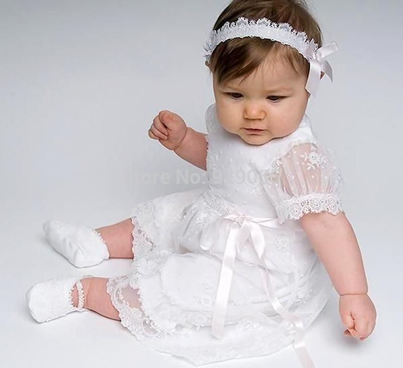 Крестильное платье своими руками