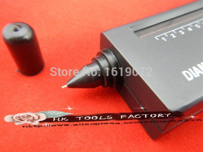 Portable Diamond Tester Selector V2 with Case & Gemstone Jeweler Platform tool(China (Mainland))