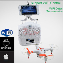 Wifi FPV quadcopter quadrocopter 4CH WIFI Helicopter with camera For Smart phone and Pads ufo Six