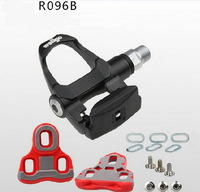 Free shipping,  R096B Bicycle Pedal, Self-locking Sealed Bearing Pedal for Road Bike, Bicycle Parts
