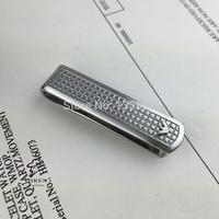 Silver 316 Stainless Steel Designer Money Clips Men Fahion Metal Money Clip For Groomsman Gift