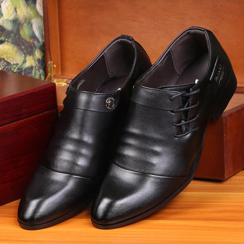 trendy black shoes men images