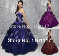 Пышное платье Vestido longo 2015 /Aqua Quinceanera 15 formal dress ball gown
