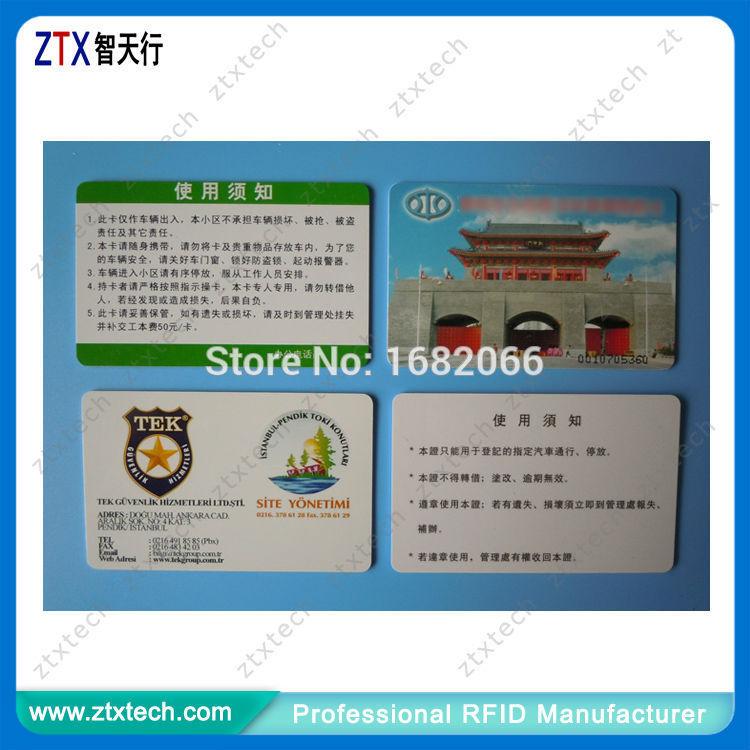 UHF RFID Card for Vehicle management(China (Mainland))