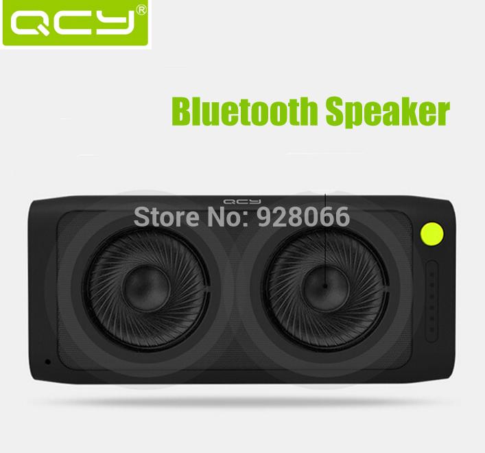100% New Original QCY Bluetooth Speaker Bluetooth 3.0 Dual Speaker Units 2600mah Power Bank TF Card Stereo Music Universal(China (Mainland))