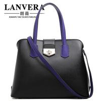 2015 Hot Sale Top Freeshipping Small(20-30cm)  Women Handbag 2014lanvera Women's Handbag Scrub Bag Large Capacity All-match