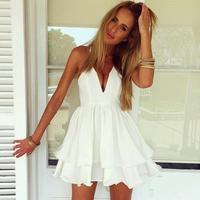 Women Summer Dress Top Fashion Vestidos 2015 Aliexpress Hot Amazon Ebay Suspenders Sexy Dress Women Summer Vestido De Festa