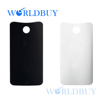 High Quality Black White Battery Back Cover Replacement For Motorola Nexus 6 XT1103 Free Shipping DHL HKPAM CPAM