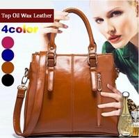 2015 new women's messenger bags  women large capacity handbag fashion genuine leather bag shoulder bag crossbody bolsas with pu