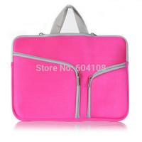 Notebook Laptop Sleeve Case Bag Pouch Handbag Case for MacBook Air 11 13 Pro 13 15 Retina , Free shipping