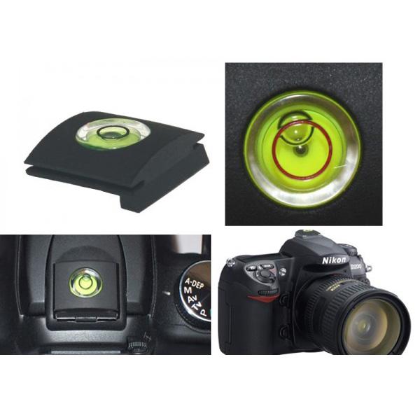 Photo Studio Accessories Bubble Spirit Level Gradienter Tester Hot Shoe Cover Protector for Nikon DSLR Camera(China (Mainland))