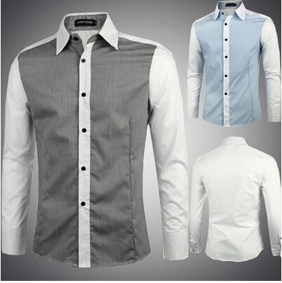 все цены на Мужская повседневная рубашка Lii 2 Slim Fit Camisetas Masculinas онлайн