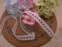 Wholesale -  white cotton crochet    Lace Trim  doll  headband  Crafts/ DIY Sewing   1.2cm