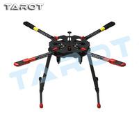 Original Tarot X4 960mm Carbon Fiber Quadcopter Umbrella Folding Arm Frame w/ Electronic Retractable Landing Gear / Skid TL4X001