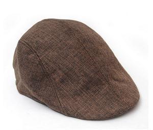 2015 New Fashion Men Women Duckbill Cap Brand Hat Golf Driving Sun Flat Cabbie Newsboy Hat Visors(China (Mainland))