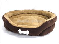 Large Dog Bed Golden Satsuma Large Dog Kennel Big Dog Sofa Cake Big Bed Suede Doghouse Cotton Dog Mat Pet Supplies