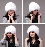 Winter Hat Real Fox Fur Hat Russian Ushanka Cossack Women Beanie HC 012 1