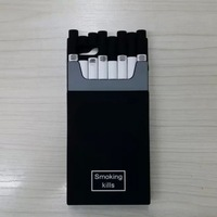 1Pcs/Lot Luxury Silicone Cigarette Case for iPhone 4 4S Smoking Kills Brand Cigaret Case for iPhone4S Cover