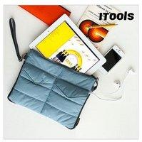 Apple i Pad Bag in Bag Inner Bag Binder Organizer Hangbag Insert ipad purse Nylon Digital Organizer Bag cosmetic train cases