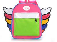 2015 hot sales women fashion anger school bag nylon mochila zoo  women backpack brand lovely wing women bags D323