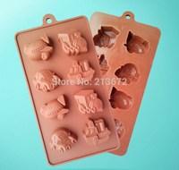 DIY Chocolates Eco-Friendly Food-grade Silicone Cake Mold Originality Convenient New Fashions Creative Trends Vehicle Cake Tools