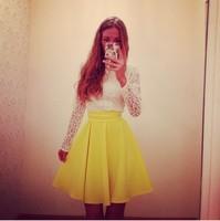 New 2015 Women Summer Lace Dress Casual Vestidos Femininos Women Lace Dress Plus Size Fashion Sexy Cute Vest Slim Hip Dresses