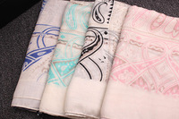 New autumn and winter scarves wholesale upscale literary fresh Fanhan Guo yarn scarf shawl scarf cashew printing