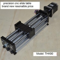 300mm Ball screw linear slide system CNC sliding table linear motion CNC router Z axis slider module FREE shipping
