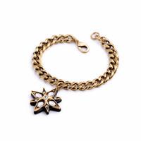 Fashion fashion accessories luxury vintage created diamond pendant female bracelet