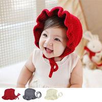 Free shipping 1 Piece Cute lovey Children's Girl Skullies Baby Cap +age 6-24 months, kids BeaniesHat