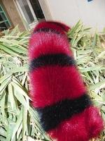 unisex imitation fox fur collar down jacket raccoon fur collar cotton wool fur collar shawl fake collar Faux fur scarves scarf