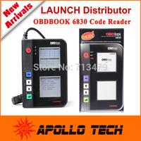 New Arrival 2015 Launch Original Code Reader Large Screen Launch OBDBook 6830 Code Reader Update online OBD2 Generations-Creader