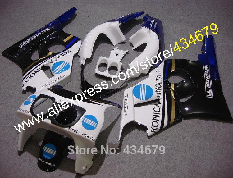 Hot Sales,Konica Minolta Motorcycle Fairings For Honda CBR400RR NC29 1990-1998 CBR 400 RR NC29 90-98 Sportbike Body Kits(China (Mainland))