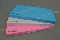 20pcs/lot Polymer Battery 10000mAh Power bank External battery for iPhone 6 iPad Mobile Phones with Retail box New