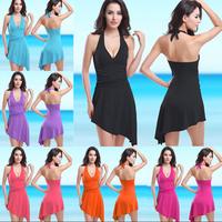 Charming women summer dress swimwear , one pieces women beach wear swimsuit moda praia feminina HDPsm23
