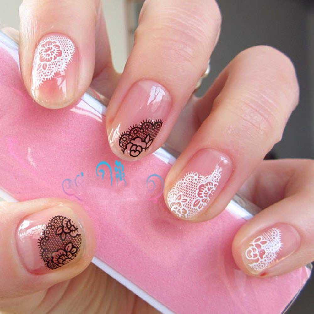 Наклейки для ногтей Nail Art Stickers 30 3D OH11539 30 colours nail art stickers nail art strip tapes