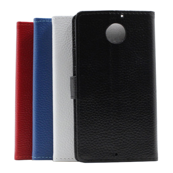 Wallet Flip Stand Genuine Leather Protective case for Motorola Droid X2 MB870(China (Mainland))